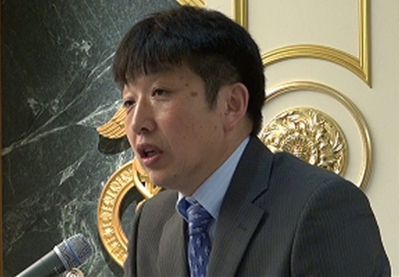 オルホノド・ダイチン氏(モンゴル自由連盟党幹事長)