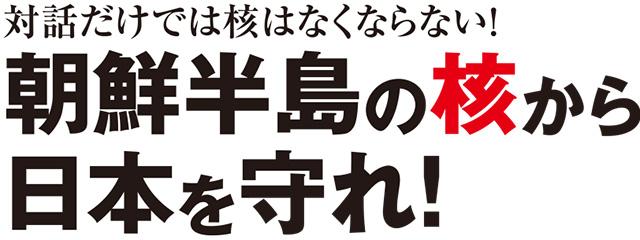 対話だけでは核はなくならない! 朝鮮半島の核から日本を守れ!