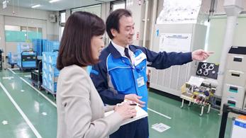 日本理化学工業&オムロン京都太陽を視察