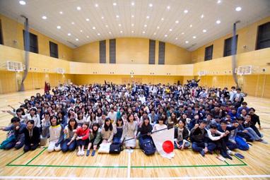長生村(千葉)にて若者と集会・座談会