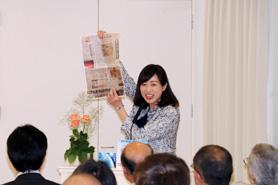 西尾市・稲沢市(愛知)にて講演・座談会