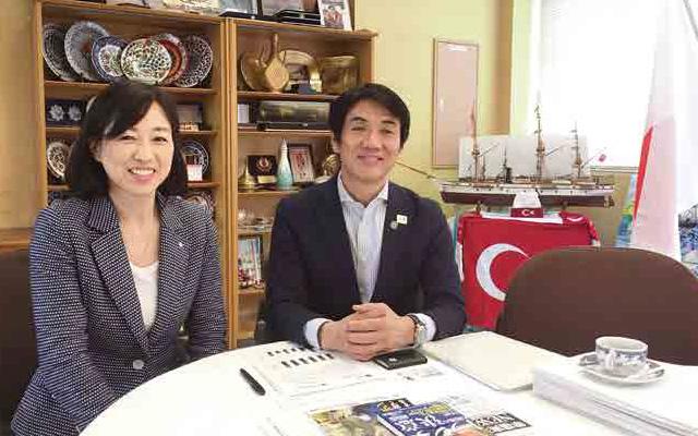 田嶋町長と。串本から宇宙へ!