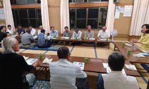 松本市(長野)にて集会