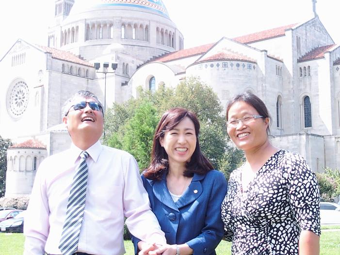 「盲目の人権活動家」陳光誠氏と釈量子党首の対談