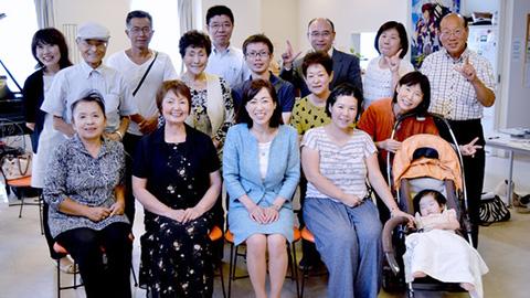 長野県南信地方にて集会・支援者訪問