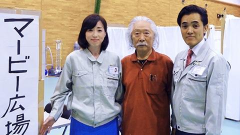 倉敷市・岡山市にて講演・豪雨避難所慰問