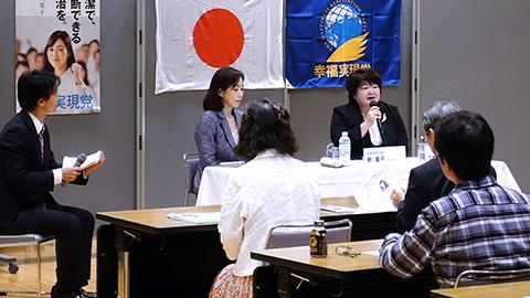 西東京市にて集会・支援者訪問