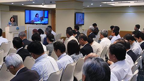 党本部にて全国都道府県本部代表会議