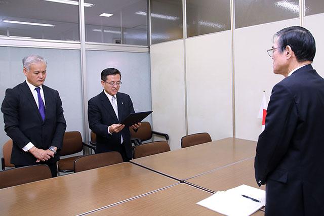 【活動関連】10月3日(水)、日本政府から台湾に対して台南市の「慰安婦像」撤去の申し入れを求める要望書を提出
