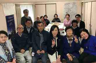 神戸市にて講演・支援者訪問