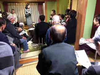 福井県内各所にて支援者集会・企業でご挨拶