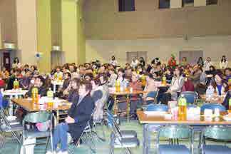 西尾市(愛知)にて感謝祭に参加