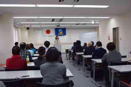 目黒区・江戸川区(東京)にて支援者集会・ご挨拶回り