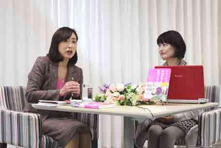 ノンフィクション作家・河添恵子さんと対談