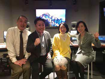 ラジオ大阪の番組に出演