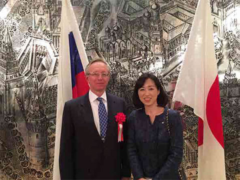ロシア大使館にて新春日ロ交流の集い
