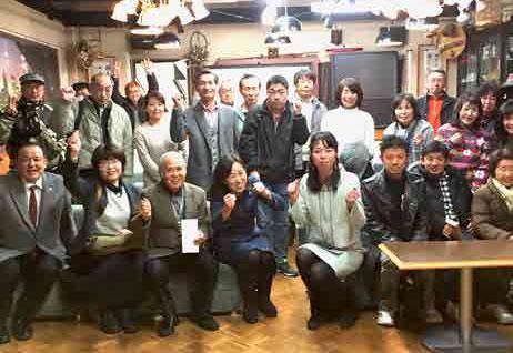 四日市市(三重)にて集会・支援者訪問