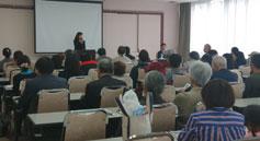 高知市にて講演・支援者集会