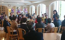 秋田・青森にて集会・支援者訪問