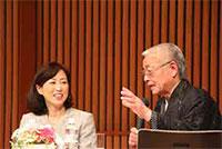 松江市(島根)にて野々村先生と公開対談