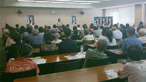 静岡県内各所にて党集会・街頭演説