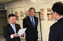 2018年10月、道庁に「道民の命を守るために原発再稼働を求める要望書」を提出。
