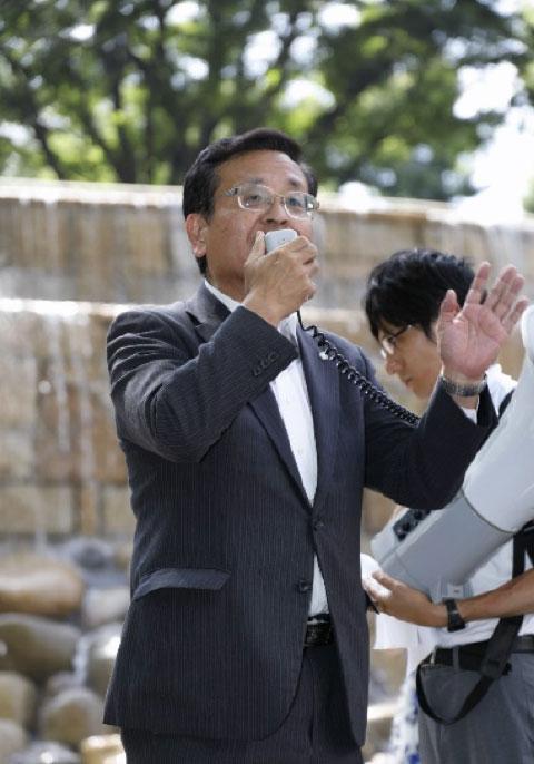 松島ひろのり幹事長