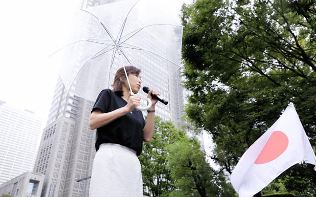 釈量子党首「香港デモは自由のために戦う愛と平和の革命」