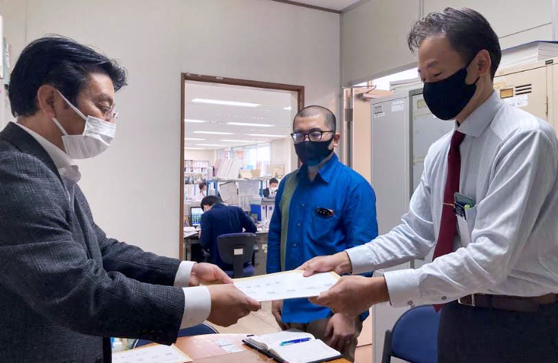 沖縄県議会に陳情書を提出