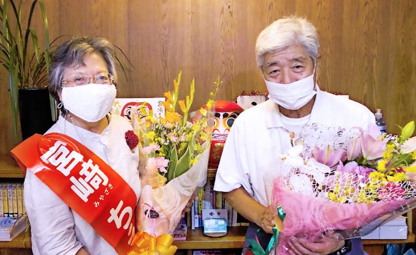 高知県佐川町議会議員選挙で、宮崎ちえこ議員が再選!_02